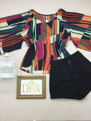 divinadivamodafeminina.com.br blusa estampada meia manga flare