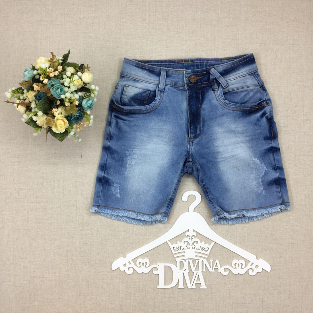 d8c7dd397c divinadivamodafeminina.com.br shorts jeans azul clara tingida e com barra  desfiada