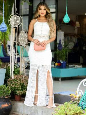 divinadivamodafeminina.com.br vestido longo branco com fenda